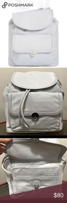 "Kipling medium Backpack NWT * Medium sized backpack; 12""W x 13""H x 3""D * 3-1/2""L top handle; 15""L to 18""L adjustable double backpack straps * Drawstring & magnetic-snap closures * Silver-tone exterior hardware & 1 turn-lock flap pocket * 1 interior zip pocket, 2 slip pockets & 1 key finder * Nylon; trim: faux leather * Retails for $149 + tax Kipling Bags Backpacks"