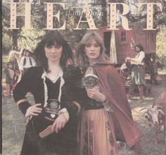 This is Heart Little Queen vinyl record album. The scanned pictures are of the actual album cover. It is recorded on Portrait Record Label #JR-34799 in 1977. There are no visible play marks on the vin