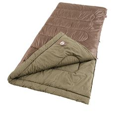 Coleman Oak Point Cool Weather Sleeping Bag. Made of the highest quality materials. Camping Outdoor Sleeping Gear. Another quality Coleman product.