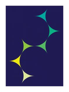Migrations #2 (2010) - Geometric Art by Gary Andrew Clarke