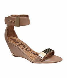 Sam Edelman Sarena Wedge Sandals #Dillards