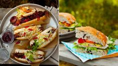 Perfekt park- og piknikmat: Fire enkle sandwicher fulle av smak