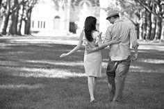 nice casual pre-wedding shoot