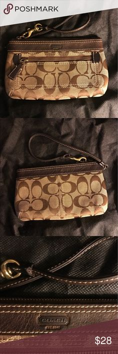 Coach Wristlet - Classic Style Coach Wristlet - Classic Style - Great Condition Coach Bags Clutches & Wristlets