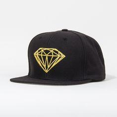 eb055cd9c15db Supply Co Brilliant Snapback Hat in Black Gold  40