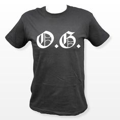 O.G. - Original Gangster TShirt #OG #Music #Compton #HipHop #Fashion #FBloggers