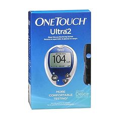 One Touch Ultra 2 Blood Glucose Monitoring System [Julie's glucose monitor] Blood Glucose Monitor, Health Talk, Diabetes Management, Health And Beauty, Healthy Life, Herbalism, Touch, Kit, Meals