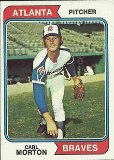 244 - Carl Morton - Atlanta Braves