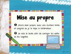 La classe de Madame Valérie: La démarche d'écriture