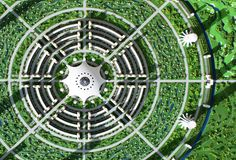 Venus Project/Circular Research City by Jacque Fresco