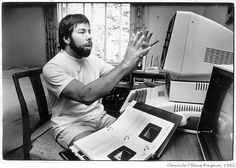 Steve Wozniak, The creator of the personal computer as we know it. He is just a kid at heart who gets so excited about technology.