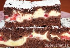 Czech Desserts, Sweet Desserts, Easy Desserts, Sweet Recipes, Czech Recipes, Mini Cheesecakes, Desert Recipes, Healthy Baking, Cheesecake Recipes