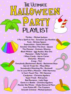 The Ultimate Halloween Party Playlist - Studio DIY - Real Time - Diet, Exercise, Fitness, Finance You for Healthy articles ideas Halloween Tags, Halloween Music, Adult Halloween Party, Halloween Movies, Halloween Birthday, Halloween Party Decor, Holidays Halloween, Zombie Party, Halloween Games For Adults