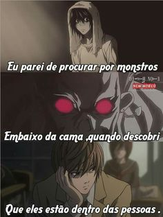 E sofremos perto desses monstros L Death Note, L Lawliet, Writing Promps, Tumblr Love, My Heart Hurts, Dark Thoughts, My Life Style, Sad Life, Anti Social