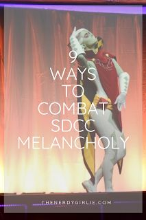 Megan Elvrum: 9 Ways to Combat San Diego Comic Con Melancholy Online Album, San Diego Comic Con, Entertainment Weekly, Throughout The World, Melancholy, Great Memories, Clone Wars, Rock N Roll, Are You Happy
