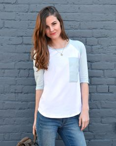 JANEL baseball tee | that favorite comfy baseball tee. shop our new collection on the site now.