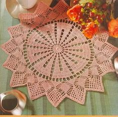 Home Decor Crochet Patterns Part 169 - Beautiful Crochet Patterns and Knitting Patterns Crochet Pillow Pattern, Crochet Doily Patterns, Granny Square Crochet Pattern, Thread Crochet, Crochet Granny, Filet Crochet, Crochet Motif, Crochet Doilies, Crochet Flowers
