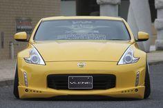 VLENE NISSAN Z34 FAIRLADY Z 3SET (LED DAY LIGHT仕様) ★FRONT HALF SPOILER ★SIDE MUDGUARD SPOILER ★REAR SIDE HALF SPOILER  #VLENE #NISSAN #Z34 #FAIRLADY #エアロパーツ #Z Jdm Tuning, Nissan 370z, New Product, Japan, Cars, Beautiful, Autos, Car, Automobile