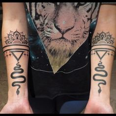 Two black lines with the mandala , definitely want an armband of some sort on my left forearm