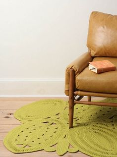 Forget the rug, tell me about that chair!