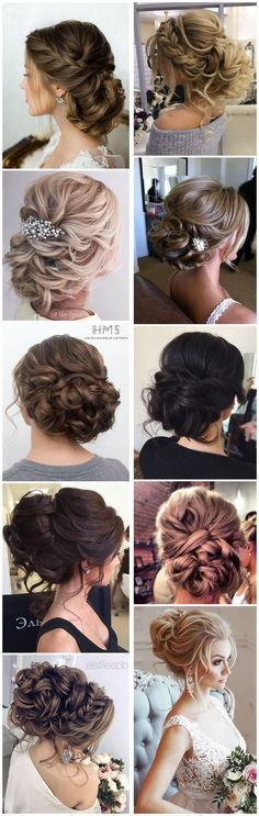Wedding Hairstyles » Come and See why You Can't Miss These 30 Wedding Updos for Long Hair mis presosuras a qui estan varias ociones de peinados para ustedes