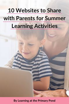 Do you send home summer learning suggestions with your students' parents?Here are 10 great sites that you can share with the families of your Kindergarten, first, or second grade students! Phonemic Awareness Activities, Phonological Awareness, Learning Activities, Kids Learning, First Grade Math, Second Grade, Teaching Tips, Teaching Math, Student Photo