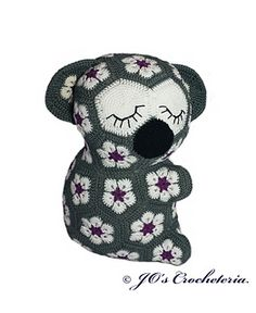 ♥ Crochet Pattern - Lily the African Flower Koala ♥