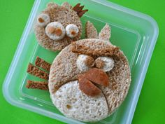 Angry Birds Sandwich