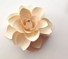 Hey, I found this really awesome Etsy listing at https://www.etsy.com/listing/184293048/the-hera-decorative-paper-flower-in-soft