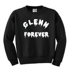 The Walking Dead Glenn Forever Sweatshirt The Walk Dead, Walking Dead Show, Steven Yeun, Stuff And Thangs, Looks Cool, Types Of Fashion Styles, Cool Style, Glenn Rhee, Freshman Year