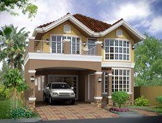 fotos de casas pequeñas pero bonitas 400x304 jpg 400×304 Small house design Kerala house design House designs exterior