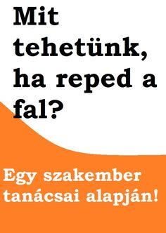 Mit tehetünk ha reped a fal? Dyi, Diy And Crafts, Home Improvement, Cleaning, Education, Creative, House, Home Cleaning, Teaching