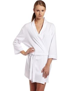 c8968a2bce Seven Apparel 00134 Hotel Spa Collection Kimono Knit Cotton Robe