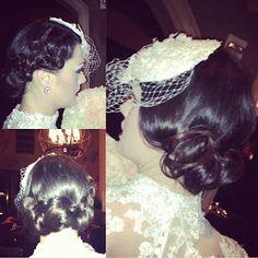 1920s hair style, editorial hair style