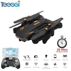 Visuo Xs809s Foldable Selfie Drone With Wide Angle 2mp Hd Camera Wifi Fpv Xs809hw Upgraded Rc Quadcopter Helicopter Mini Dron Distinctive For Its Traditional Properties Toys & Hobbies