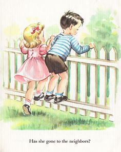 Two Crazy Crafters : Images vintage d'un livre pour enfants