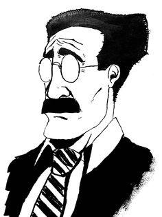 #inktober • Day 28 • Groucho