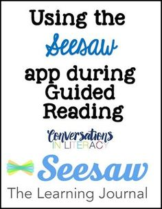 Teach Your Child to Read - Using Seesaw app to share student learning with parents - Give Your Child a Head Start, and.Pave the Way for a Bright, Successful Future. Guided Reading Groups, Teaching Reading, Teaching Ideas, Reading Lessons, Piano Lessons, Reading Mastery, Reading Goals, Reading Centers, Reading Strategies