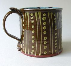 Frog mug by Peter Currell Brown, Snake Pottery