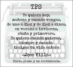 José Villa - te quiero