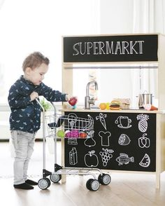 mommo design: IKEA HACKS FOR KIDS - Duktig market