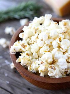 Garlic Rosemary Popcorn