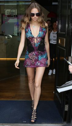Cara Delevingne Nails the Actress-Slash-Model Look - Cara Delevingne-Wmag