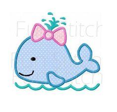 He encontrado este interesante anuncio de Etsy en https://www.etsy.com/es/listing/189514456/girl-whale-applique-machine-embroidery