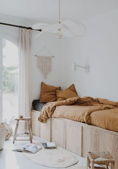 Our guest bedroom makeover with plywood our home in France Archives - BODIE and FOU Kids Bedroom, Bedroom Decor, Bedroom Storage, Bedroom Ideas, Master Bedroom, Bedroom Furniture, Bedroom Hacks, Bedroom Makeovers, Ikea Furniture