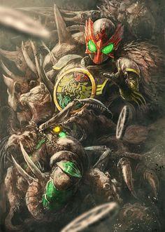 Kamen rider OOO …