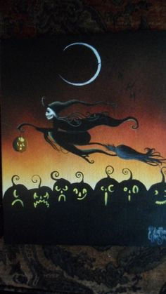 Halloween, All Hallows Eve, Trick or Treat, Witch, Goblin, Ghost, Black Cat, Bat, Skull, Ghouls, Scarecrow, Grim Reaper, Cobwebs, Jack-O-Lantern, Pumpkin, Spooky, Scary, Haunting, Creepy, Frightening, Full Moon, Autumn, Fall, Magic Potion, Spells, Magic, Haunted - by MyEclecticMind1
