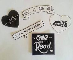 AM Stickers (set of 5)