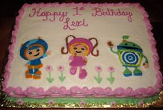23+ Best Picture of Team Umizoomi Birthday Cake . Team Umizoomi Birthday Cake Welcome Team Umizoomi 1st Birthday Cake  #BirthdayCakeToppers