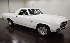 1970 Chevrolet El Camino:  2 door automatic transmission turbo 350 and blue on the inside and white outside, mileage of 10,696 miles and a 350 V8 engine with 14-inch wheels; Numbers wine used: 133800L154123 and numbers do not match.  This vehicle is available for sale, please contact us on: www.misterdeals.com / or call us on: 08-05-08-02-81 if you are interested in this vehicle.  Our prices are: 13,500 euros TTC Havre and Antwerp made the economic transport.